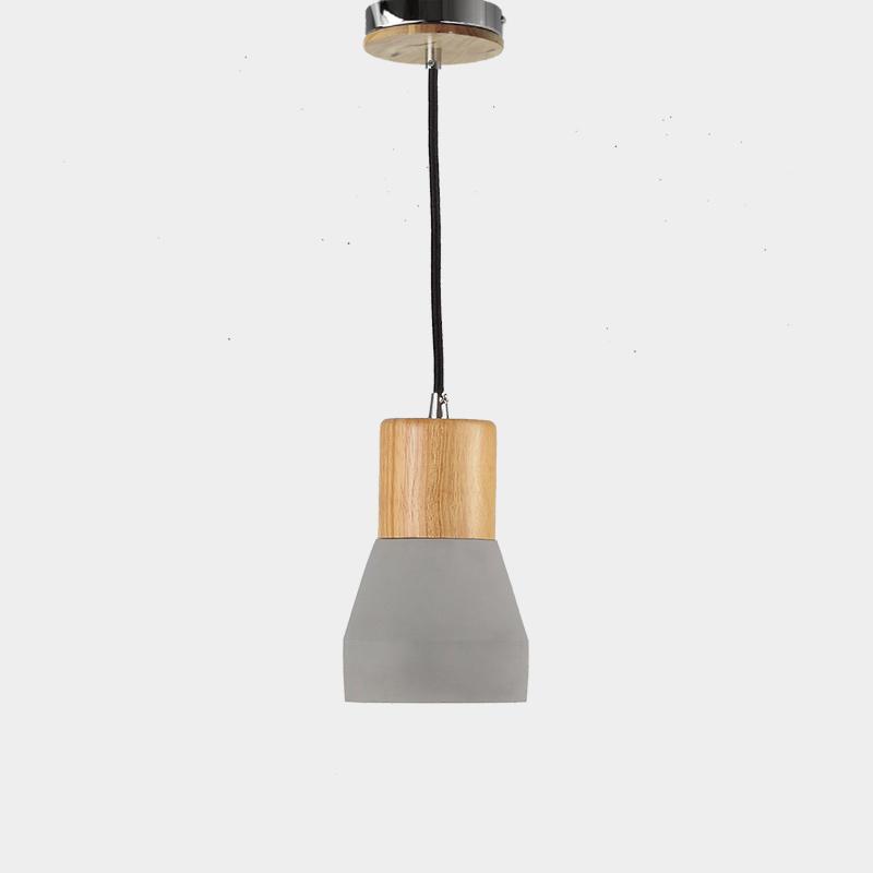 Industrial Classic Concrete Pendant Light