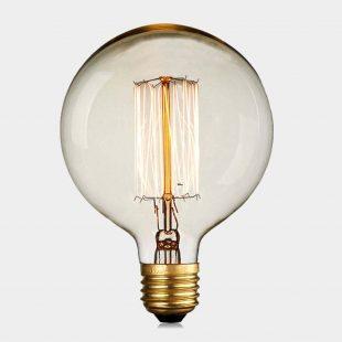 G125 25W E27 squirrel filament Edison Bulb
