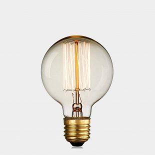G80 40W Squirrel E27 Edison Bulb