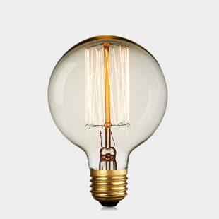G95 40W E27 Squirrel Edison Bulb