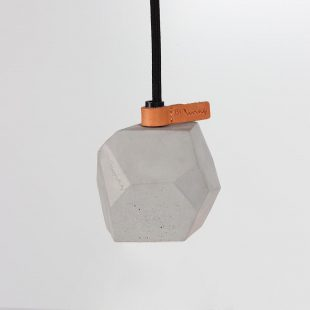 Geometric Concrete Pendant Light