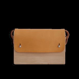 Beech Wood Leather Bag