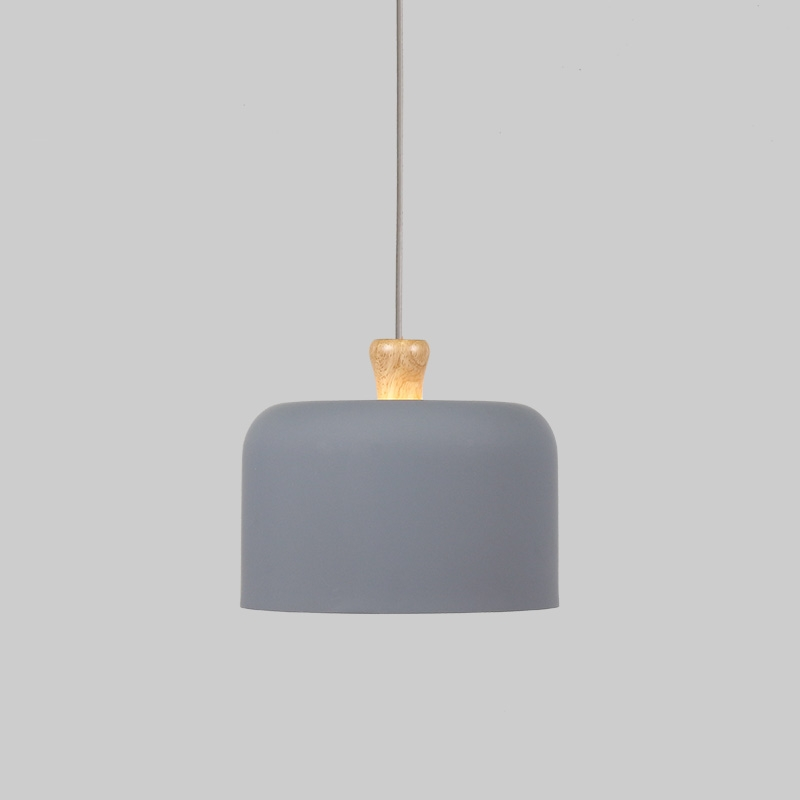 Earthy Pendant Light-Dark Grey