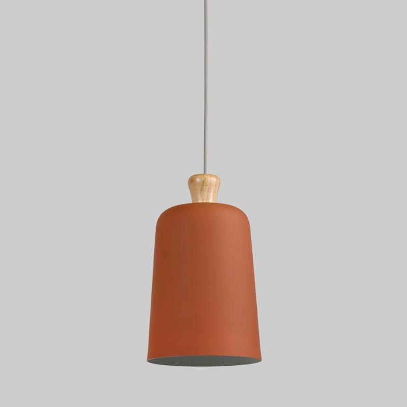 Earthy Pendant Light-Orange