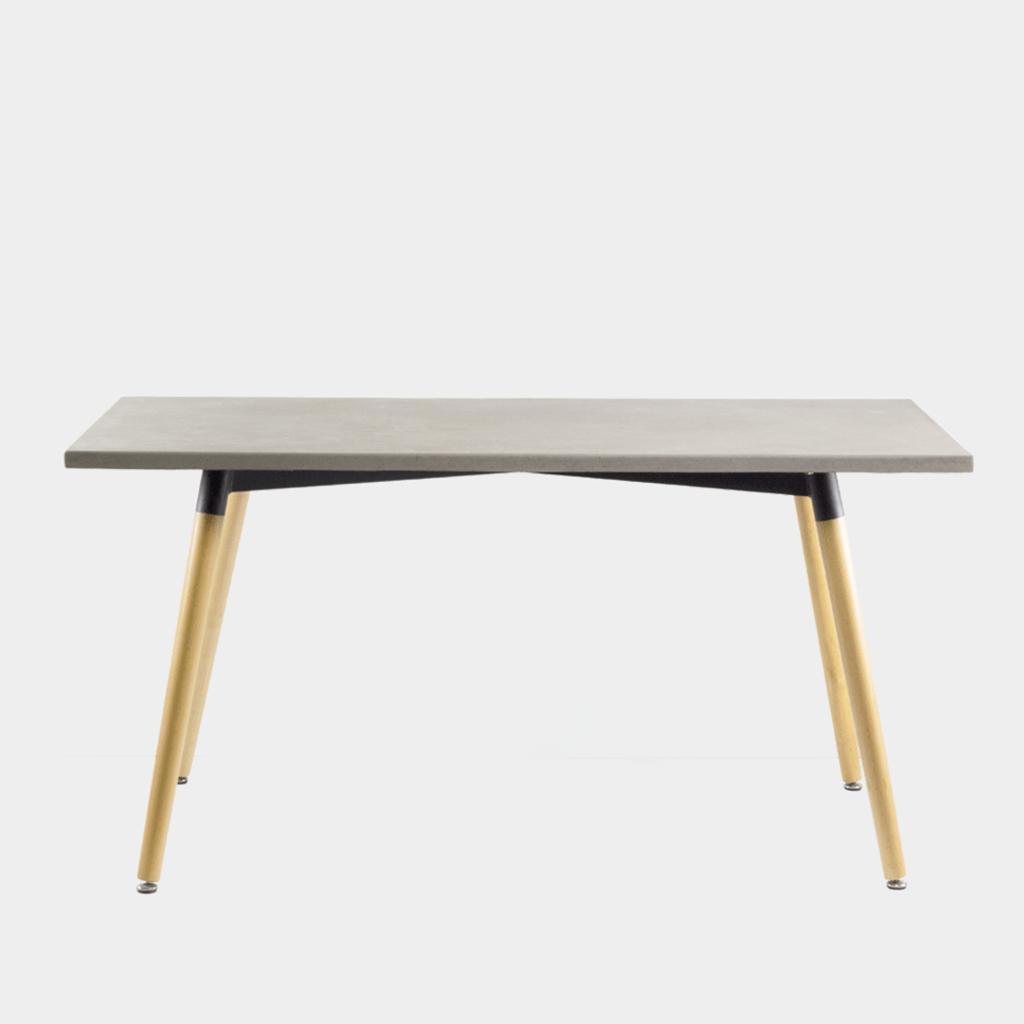 Rectangular Concrete Table
