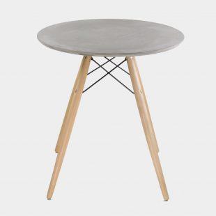Eames Round Concrete Table