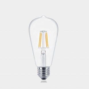Edison ST64 E27 LED Filament Globe