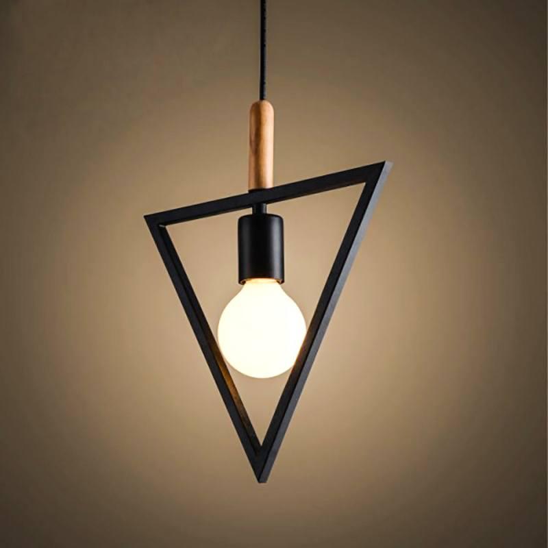 Nordic Triangular Pendant light-White