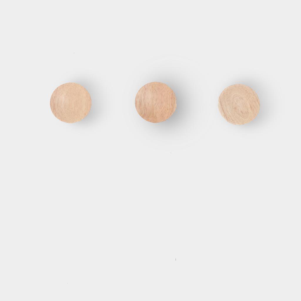 Ash Timber Wooden Hook Set