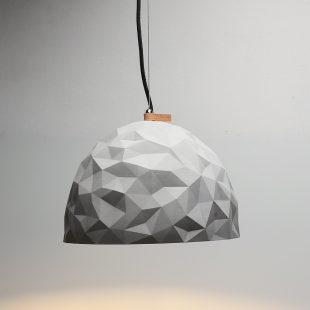 Dome Geometric Concrete Pendant Light