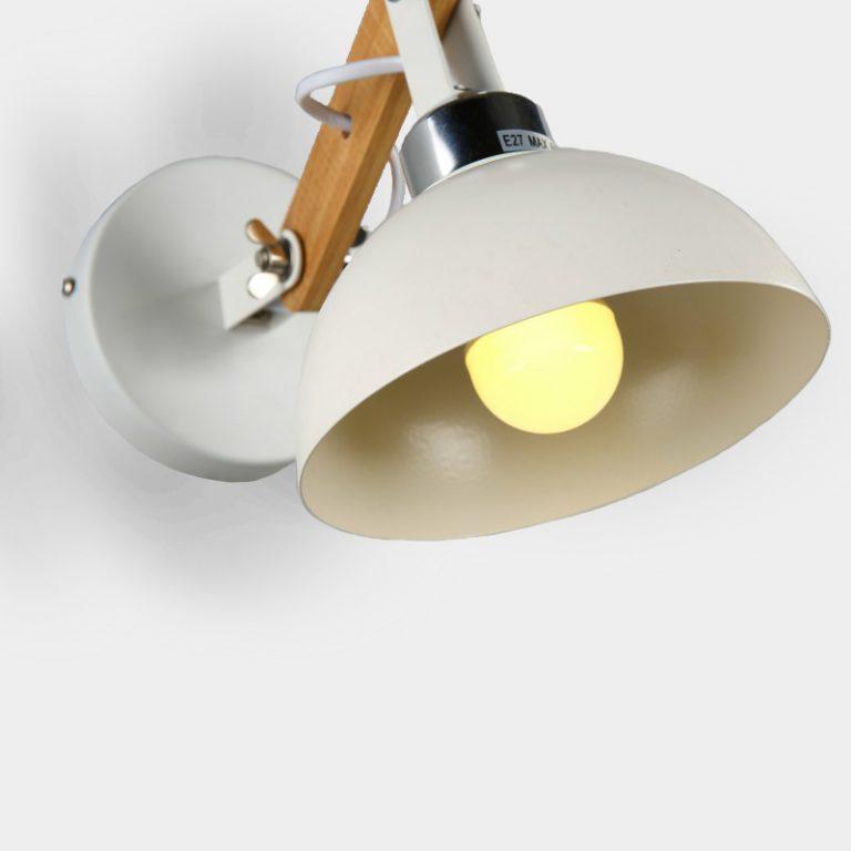 Loft White Wall Light